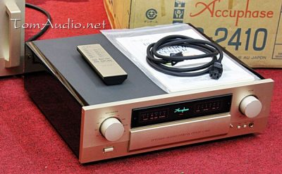 Pre Accuphase C-2410
