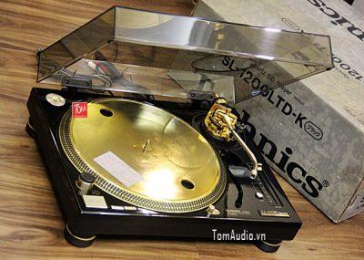 Technics SL1200 Limited vàng 24K (đẹp xuất sắc, thùng hộp xốp)